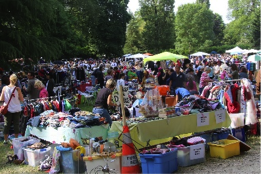 Brocante 2015 vue d'ensemble