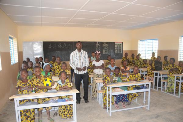 Nouvelle classe à Daguintoega