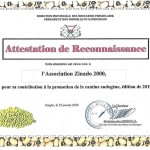 certif reconnaissance cantine endo janv2020